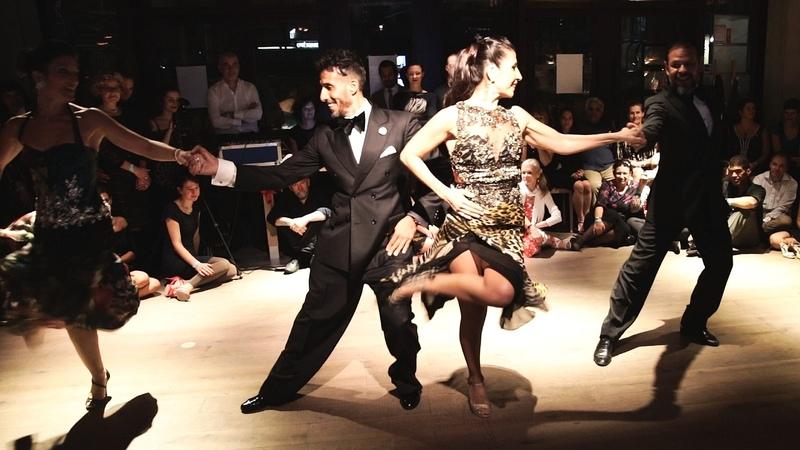 Tango J Bermudez V Gomez F Peralta y C Marquez 28 01 2017 Ghent Tango Festival