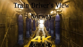 Train Driver's View Washer, track 12 and then Oslo - l in 4K UltraHD