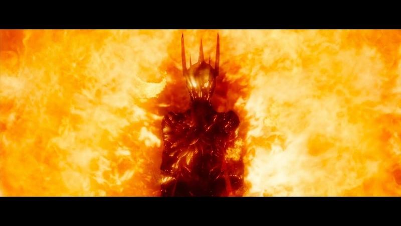 Галадриэль изгоняет Саурона Гэндальф хочет предупредить Эребор HD