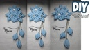 DIY || Tutorial Bros Bunga Cantik Dari Kain Perca Cara Membuat Bros Hijab Dari Kain Perca Sifon
