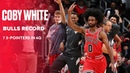 Coby White Sets Chicago Bulls Record With 7 3-Pointers In 4Q vs. New York Knicks