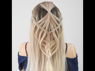 Крутое плетение косы