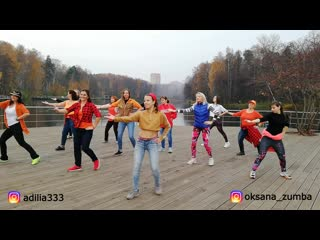 "Флешмоб ""Золотая ZUMBA осень"""