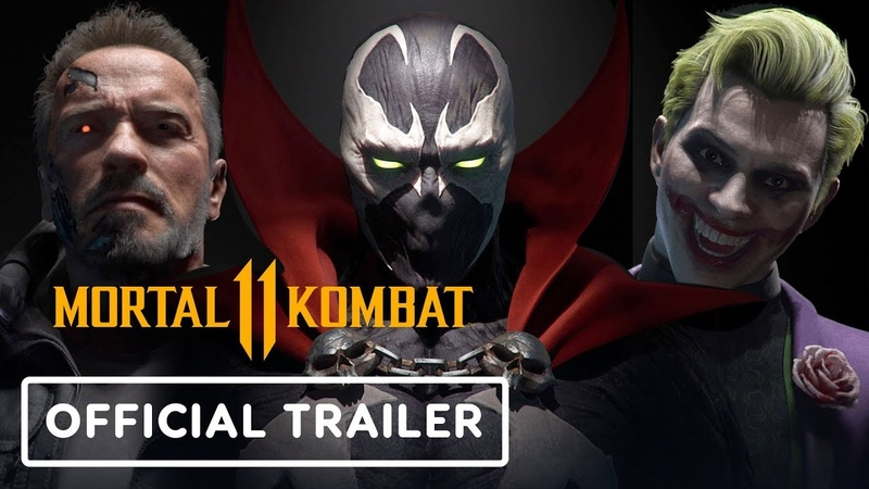 Mortal Kombat 11 - Spawn, Joker, Sindel Terminator Official Teaser Trailer