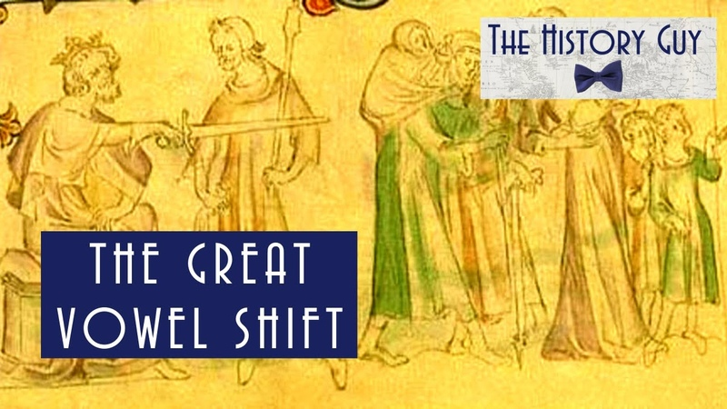 The Great Vowel Shift and the History of Britain