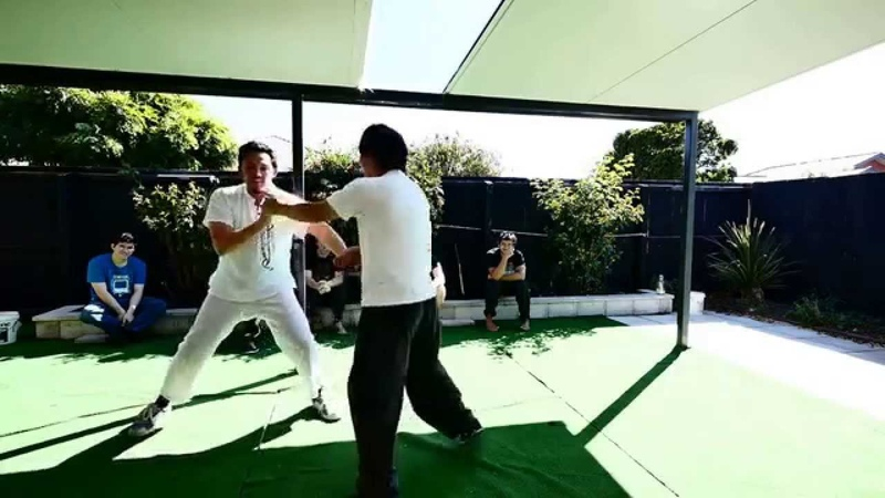 Xuan Wing Chun Sparring with Zayid