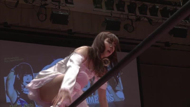 Yuka Sakazaki Mizuki c vs Natsumi Maki Hikari Noa
