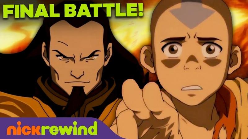 FULL Uncut Aang vs Fire Lord Ozai Final Battle 🔥 Avatar The Last Airbender NickRewind