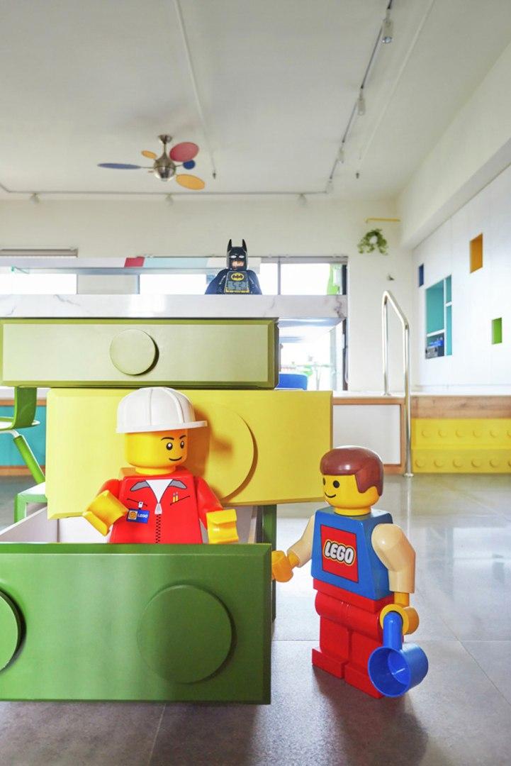 Тема Lego в интерьере - для ценителей)