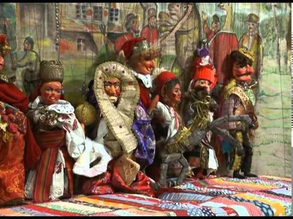 Куклы-марионетки Ивана ЗАЙЦЕВА