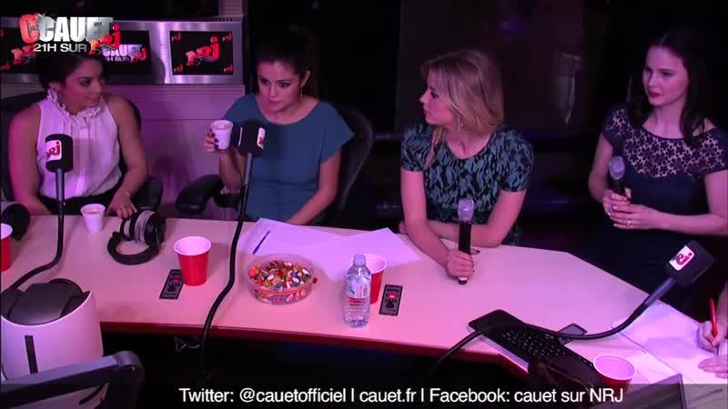 Selena Gomez trouve Julie super mignonne ! - CCauet sur NRJ