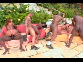 Big Bubble Butt Brazilian Orgy 11 - (Scene 2) [Amy, Kate, Luana Alves, Patricia Santos, Preta Brazil]