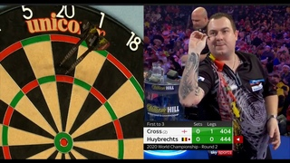 2020 World Darts Championship Round 2  Cross vs Huybrechts