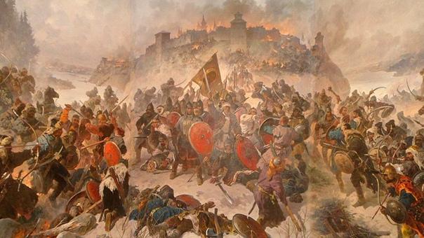 Злой город. Козельск (Черниговское княжество, сейчас Калужская область), весна 1238 года. В XIII веке монголо-татары шли по территории Руси, оставляя после себя выжженную землю. Владимир, Галич