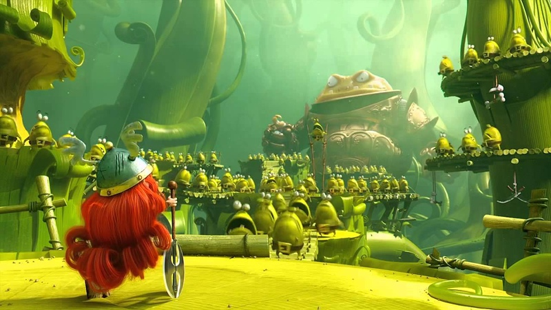 Rayman Legends - E3 2013 Epic Trailer - PS3 Xbox360 WiiU PS Vita