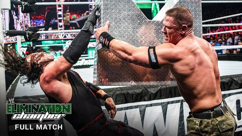 FULL MATCH John Cena vs Kane Ambulance Match WWE Elimination Chamber 2012