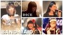 BAND MAID - Akane Solo〜DICE (English/Russian Lyrics on CC) : Live Compilation of Europe Tour 2019