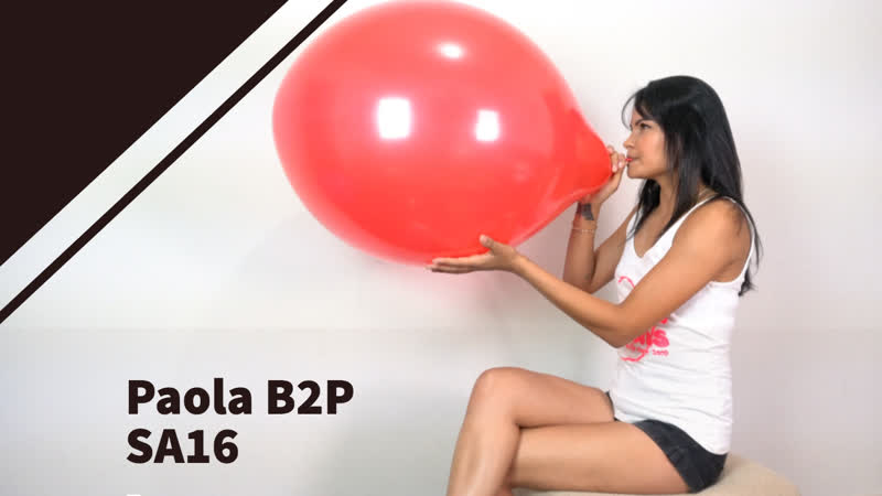 Paola giggle and B2P Red Sa16 is on 106942 ** 4K and 1080P