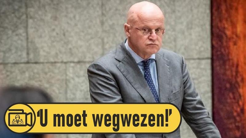 Minister Grapperhaus onder vuur 'De lijken blijven uit de kast vallen ' YouTube