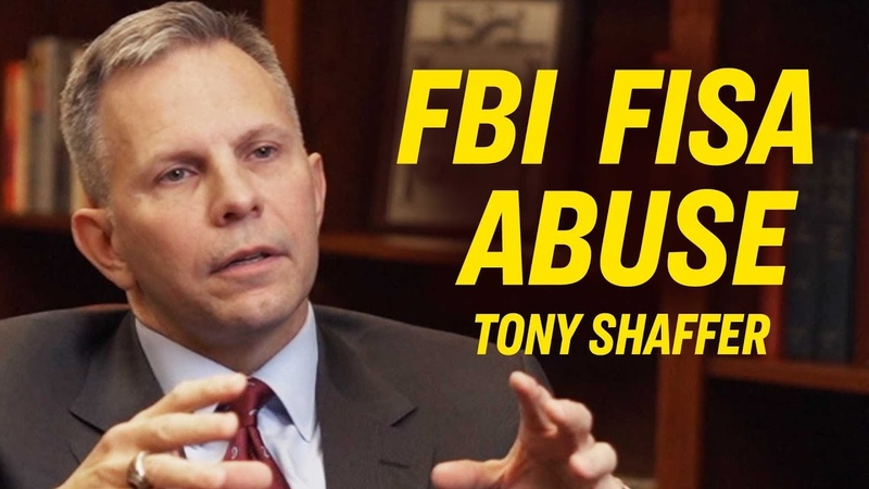 Shocking Use of FISA by Obama's FBI to Spy on Trump Campaign Exclusive with Tony Shaffer