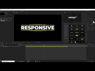 5 easy motion design techniques in after effects