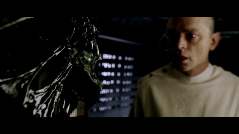 Чужой 4 Воскрешение Alien Resurrection Дрессировка чужих на корабле