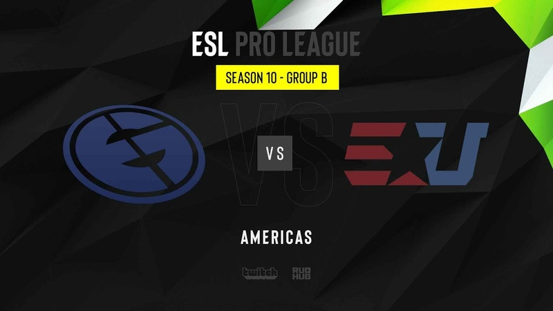 Evil Geniuses vs eUnited ESL Pro League Season 10 NA map2 de inferno MintGod