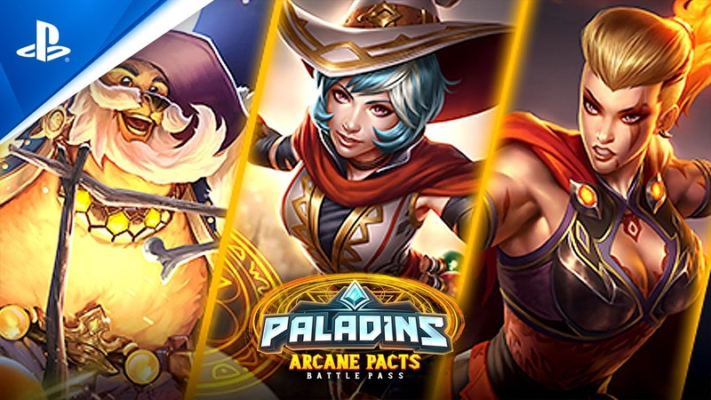 Paladins Arcane Pacts Battle Pass Trailer PS4
