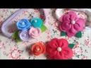 2 Modelinhos fáceis de flores de feltro ♡ Suh Bessone Aula 55