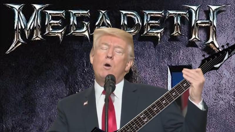 MetalTrump Symphony Of Destruction Megadeth