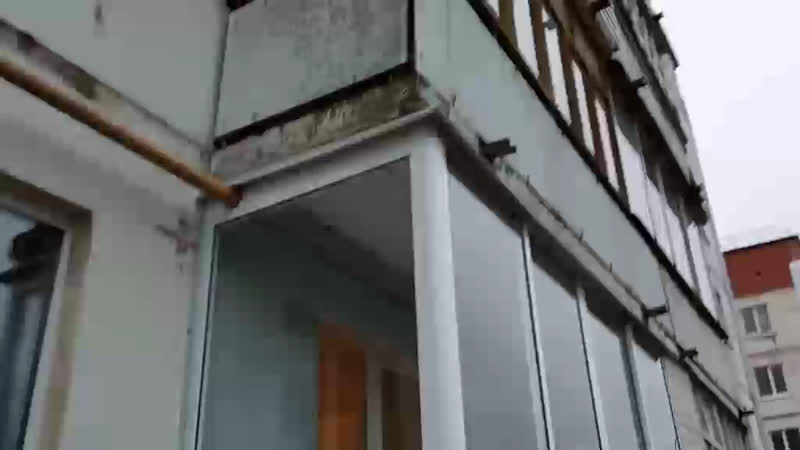 Застекление балкона алюминиевым профилем