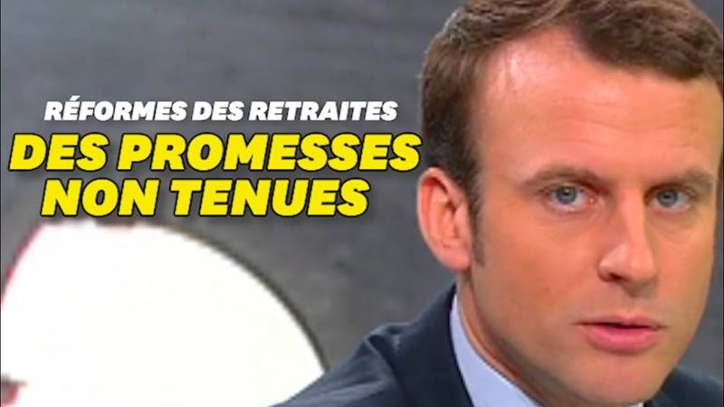 Retraites entre les promesses de Macron et la réalité de la réforme il y a comme un décalage