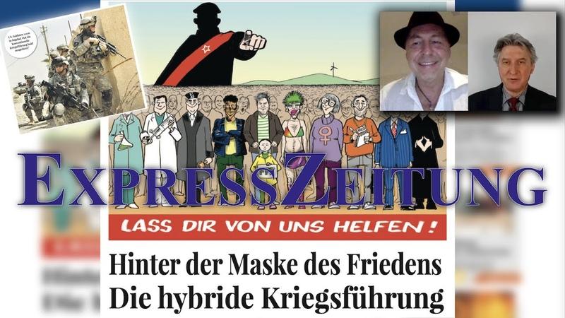 """""""Hinter der Maske des Friedens Die hybride Kriegsführung Gerhard Wisnewski im Interview"""