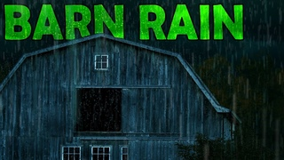 🎧 HEAVY Raindrops On Old Barn | Ambient Noise To Fall Asleep Fast,  day#54