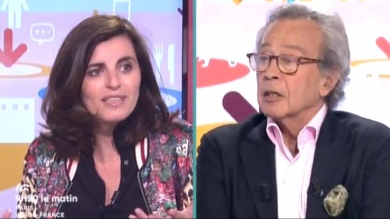 Sandrine Sarroche La Loi du talon France 3 Ile de France 9h50 le matin