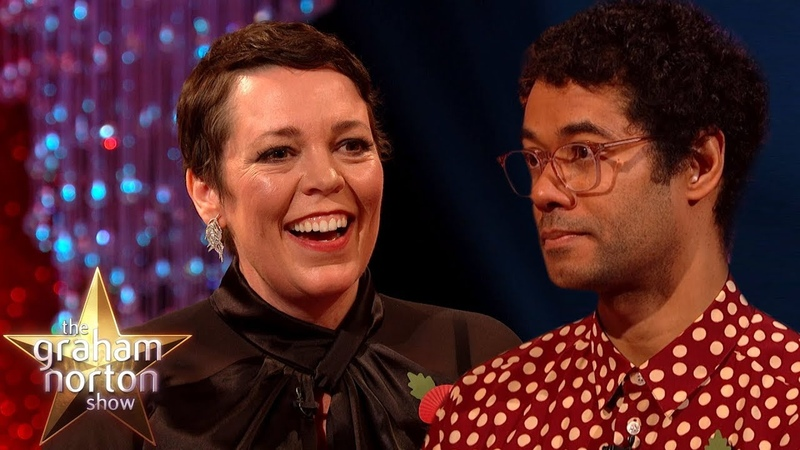Olivia Colman Is Hooked On Richard Ayoade's Book Premise The Graham Norton Show