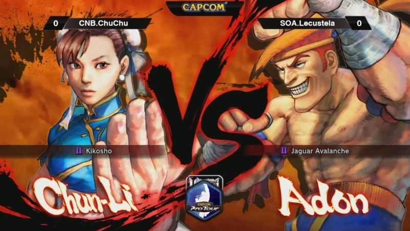 USF4 Chun Li Vs Adon CAPCOM Pro Tour 2014 Grand Finals
