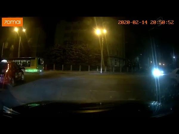 Видео ДТП на Привокзальной в Виннице