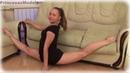 Linda Best Ballerina Contortionist Gymnast Show Maravilhoso Flexibility .