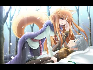 Волчица и пряности 1 сезон 1-13 ookami to koushinryou 2008 otk аниме марафон все серии подряд тв сериал фэнтези исторический