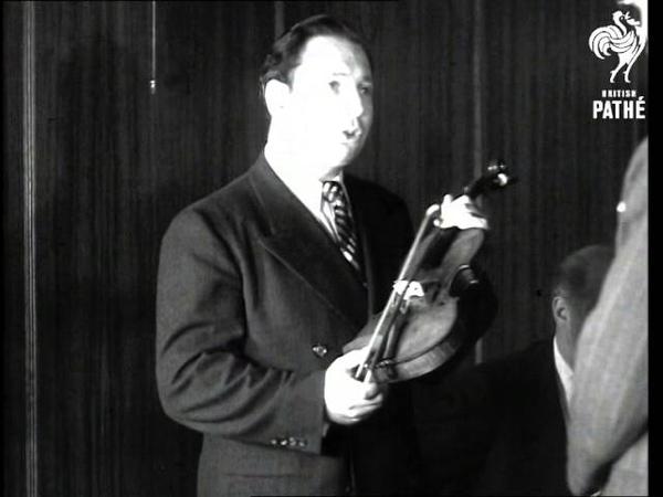 33,000 Pounds Violin AKA Isaac Stern Plays £30,000 Violin (1947)