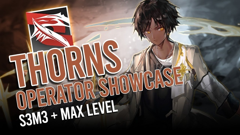 Arknights Thorns Max Level S3M3 Operator Showcase 1 Duo CE 5 feat Skadi