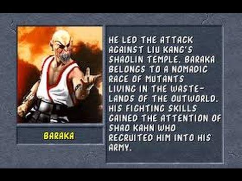Mortal Kombat II Arcade Baraka Gameplay on Very Hard no Continues