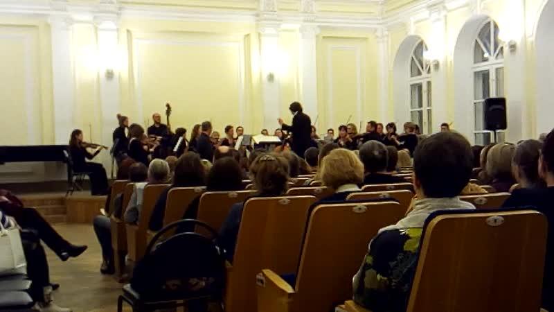 Камерный оркестр Солисты Нижнего Новгорода дирижёр Максим Емельянычев 22 01 2020г