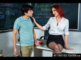 Naughty America - My First Sex Teacher / Lilian Stone & Ricky Spanish