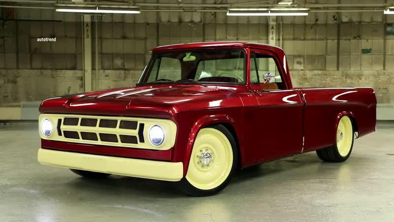 Mopar Low liner на базе 1968 Dodge D200 SEMA 2020