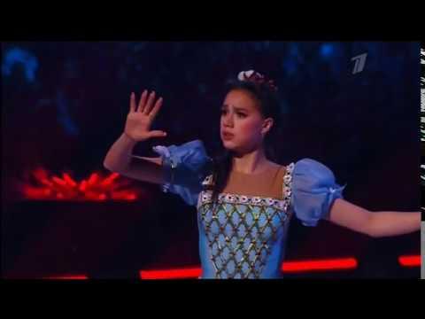 Алина Загитова в ледовом шоу Татьяны Навки Спящая красавица. Легенда двух королевств.
