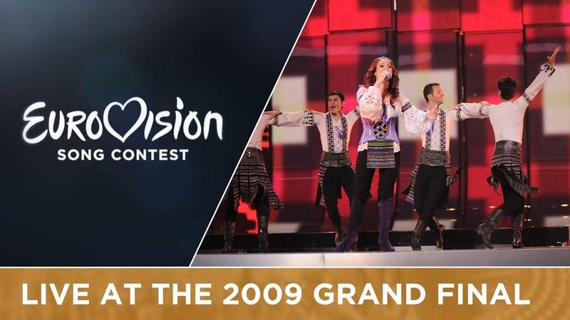 Nelly Ciobanu Hora Din Moldova Moldova Live 2009 Eurovision Song Contest