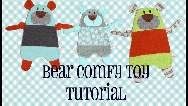 How to Make Designs by JuJu Bear Comfy Toy