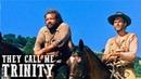 They Call Me Trinity   WESTERN   English   Full Length Spaghetti Western Film   Full Movie